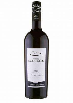 Una bottiglia di CABERNET SAUVIGNON SCOLARIS DOC 2015 COLLIO