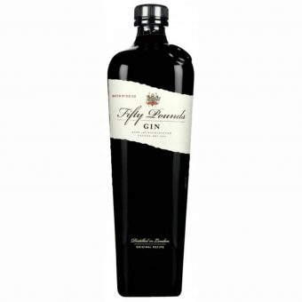 GIN FIFTY POUNDS LONDON 70cl.