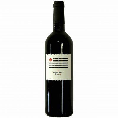 Una bottiglia di BRUMA ROSSO 2013 DOC FRIULI ISONZO - BLASON WINES