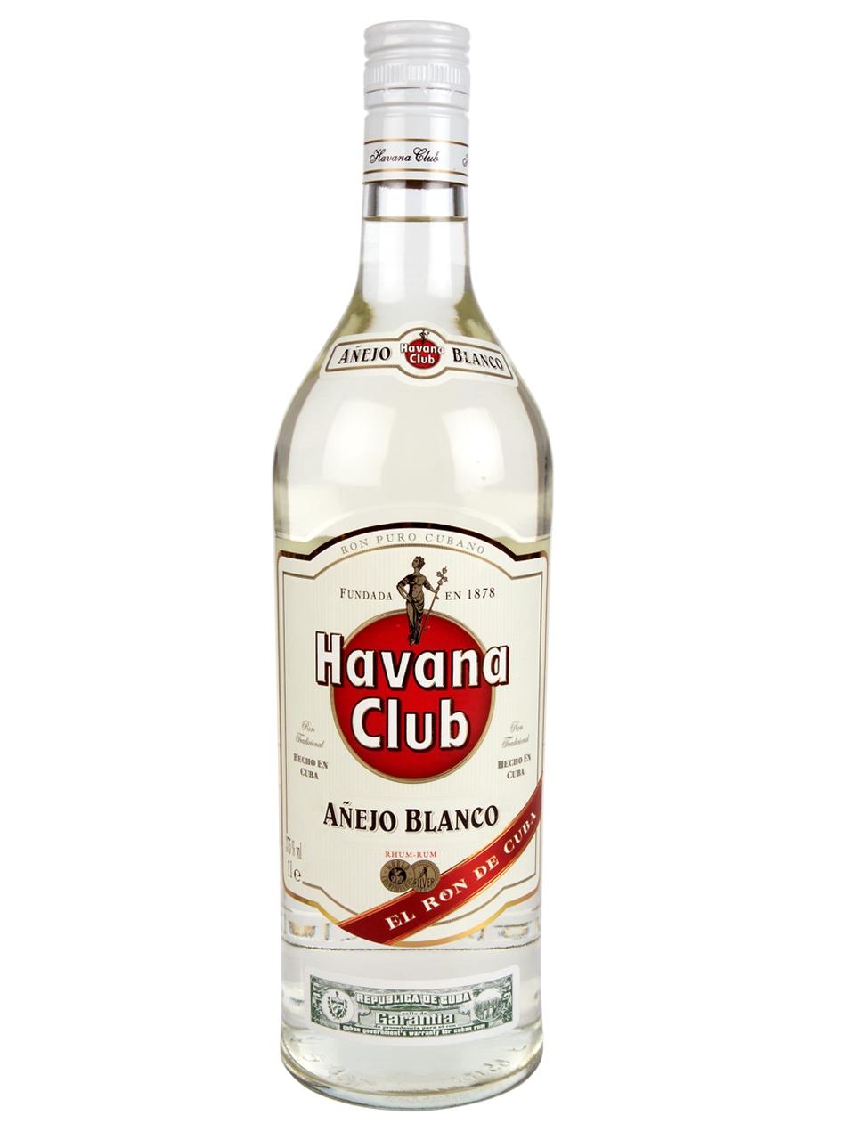 25-HAVANA ANEJO BLANCO 100CL