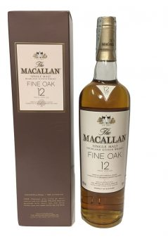 WHISKY MACALLAN FINE OAK 12 ANNI 70CL