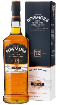 WHISKY BOWMORE ENIGMA 12 ANNI 100CL