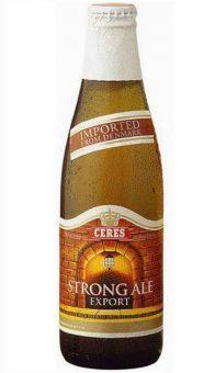 BIRRA CERES STRONG ALE -  24 Bottiglie x 33cl.