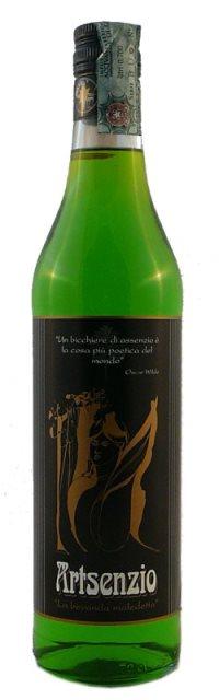 Una bottiglia di ARTSENZIO 70 CL-MIXER SRL