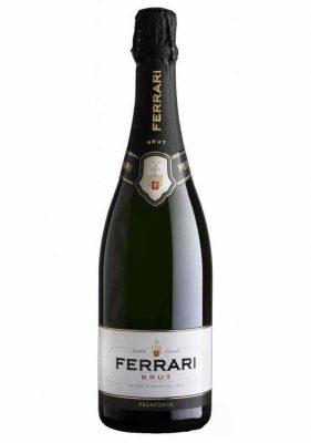 Una bottiglia di FERRARI BRUT TRENTO DOC 75CL