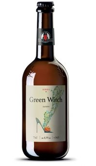 BIRRA GREEN WITCH SAISON 75cl - FOGLIE D'ERBA