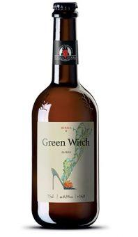 BIRRA GREEN WITCH SAISON 75cl - FOGLIE D'ERBA
