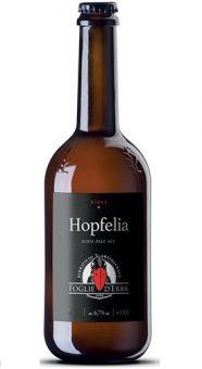 BIRRA HOPFELIA IPA 33cl - FOGLIE D'ERBA