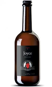 BIRRA JOYCE WHEAT BEER 75cl - FOGLIE D'ERBA